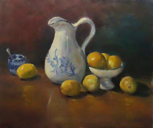 La cruche et les citrons