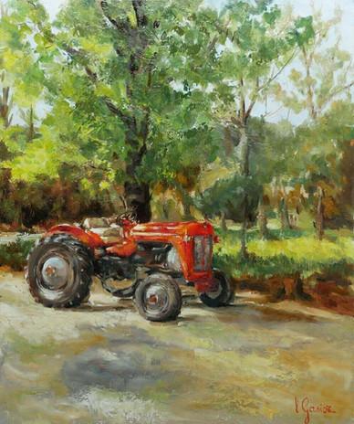 Le tracteur de Georges