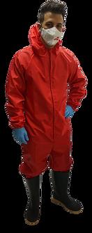Buzo Multiproposito Rojo delantera 2 - A