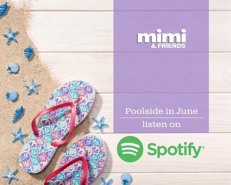 New Spotify Playlist: Poolside in June
