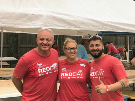 Giving Back at KW RED Day!