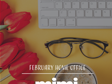 Monthly Spotify Playlist: February Home Office