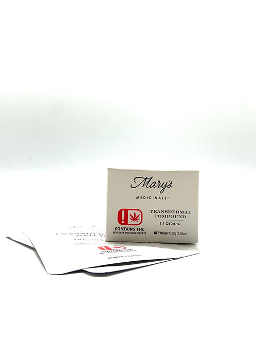 Mary's Medicinals - Transdermal Patch (THC - Indica)