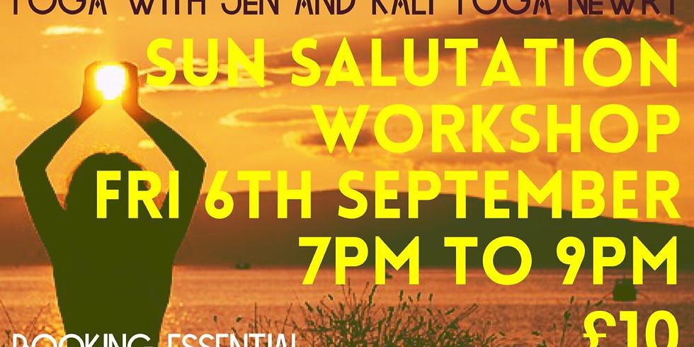 Sun Salutation Workshop