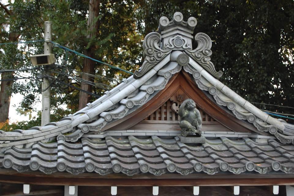 Roof Monkey, Sekizan Zennin, Kyoto