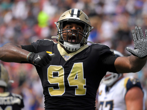 Eyes on the Enemy: New Orleans Saints