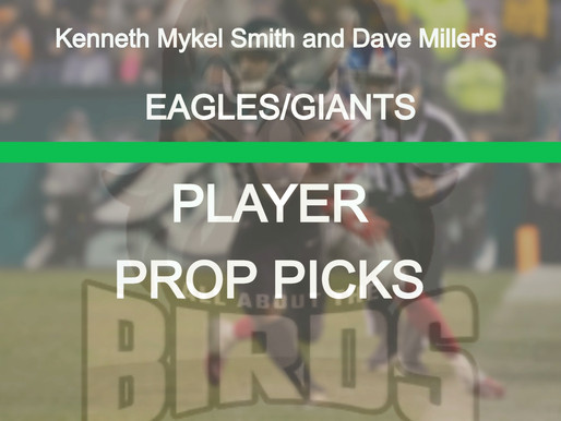 Eagles @ Giants Player Prop Bets