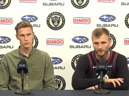 Jack Elliott and Kacper Przybylko Press Conference Recap