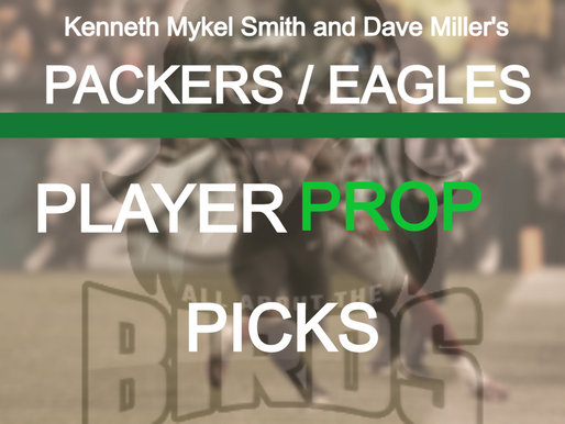 Eagles @ Packers Player Prop Bets