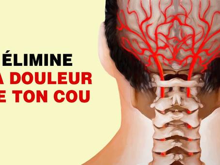 6 techniques pour éliminer les douleurs du cou et des cervicales