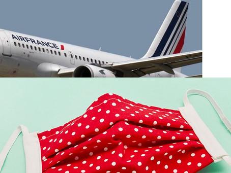 Les masques en tissu interdits dans les avions