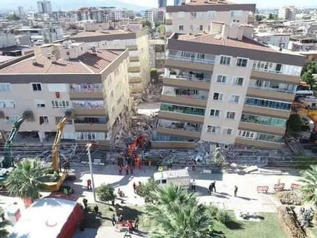 Séisme : le bilan s'alourdit en Turquie, près de 50 morts