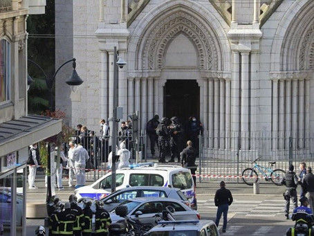 🔴 Attaque au couteau dans une église à Nice: 3 morts