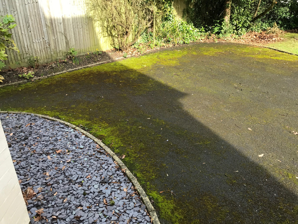 TARMAC DRIVEWAY CLEANING AND TREATING TARMAC MOSS REMOVAL TARMAC CLEANING TENNIS COURT CLEANING EASTBOURNE BRIGHTON