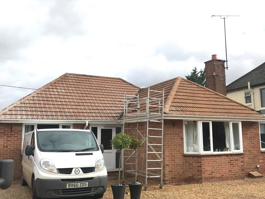 MOSS REMOVAL ROOF CLEANING IN EASTBOURNE