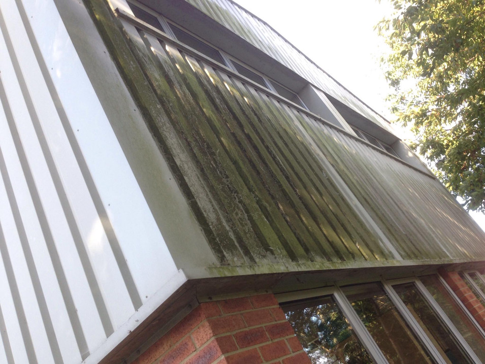COMMERCIAL CLEANING PRESSURE WASHING CLADDING CLEANING
