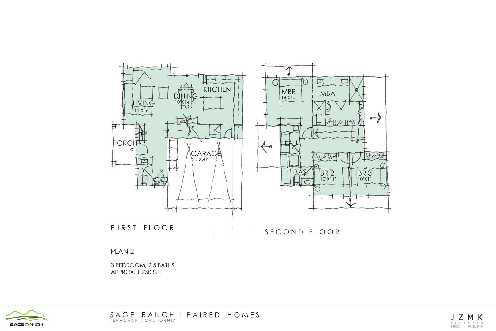 Paired Floorplan