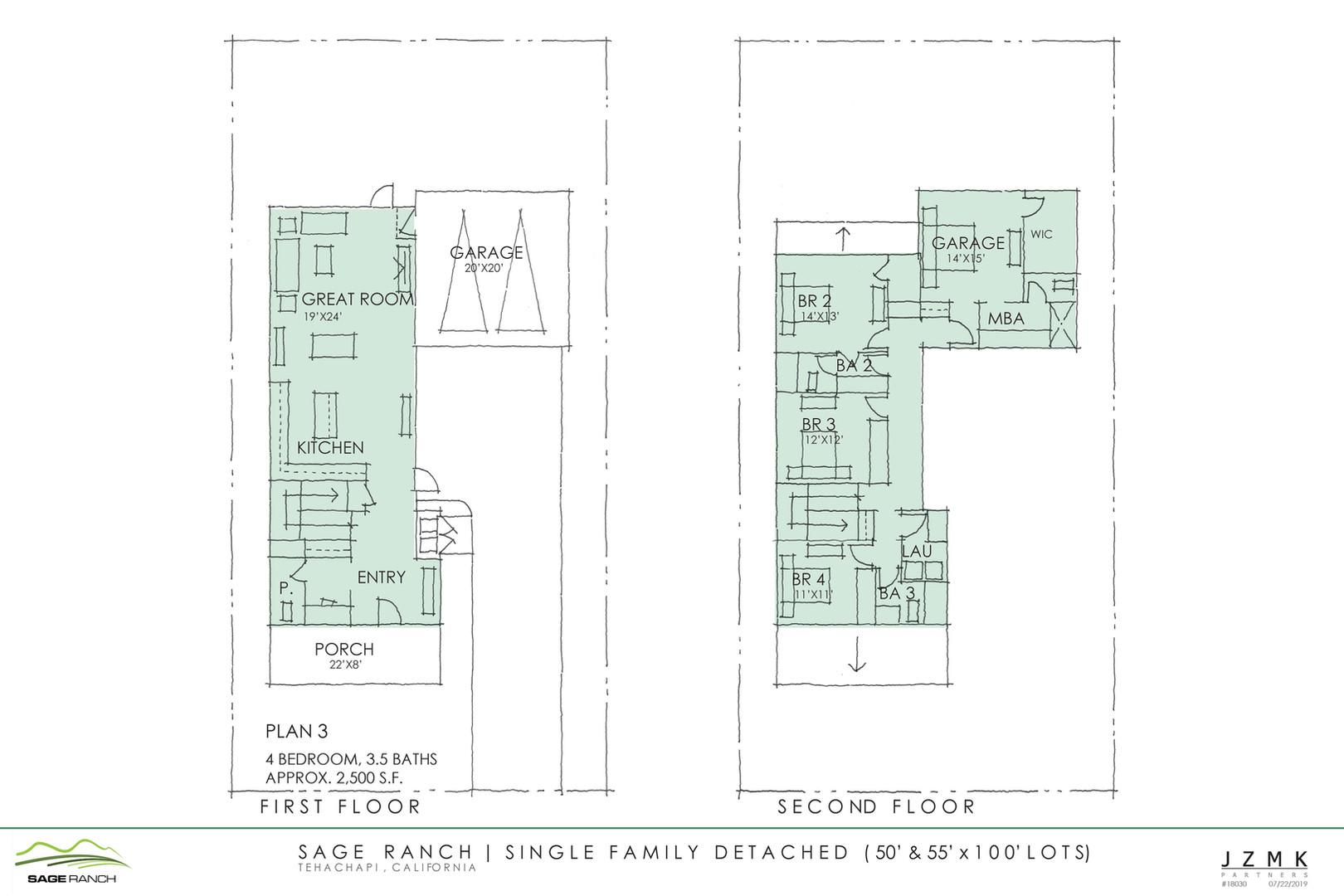 Sage Ranch- Floorplans Single Family (50