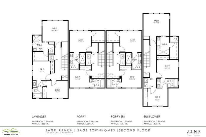 Sage Townhomes Second Floor