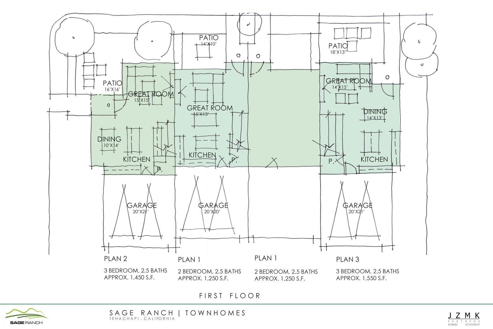 Townhome Floorplan