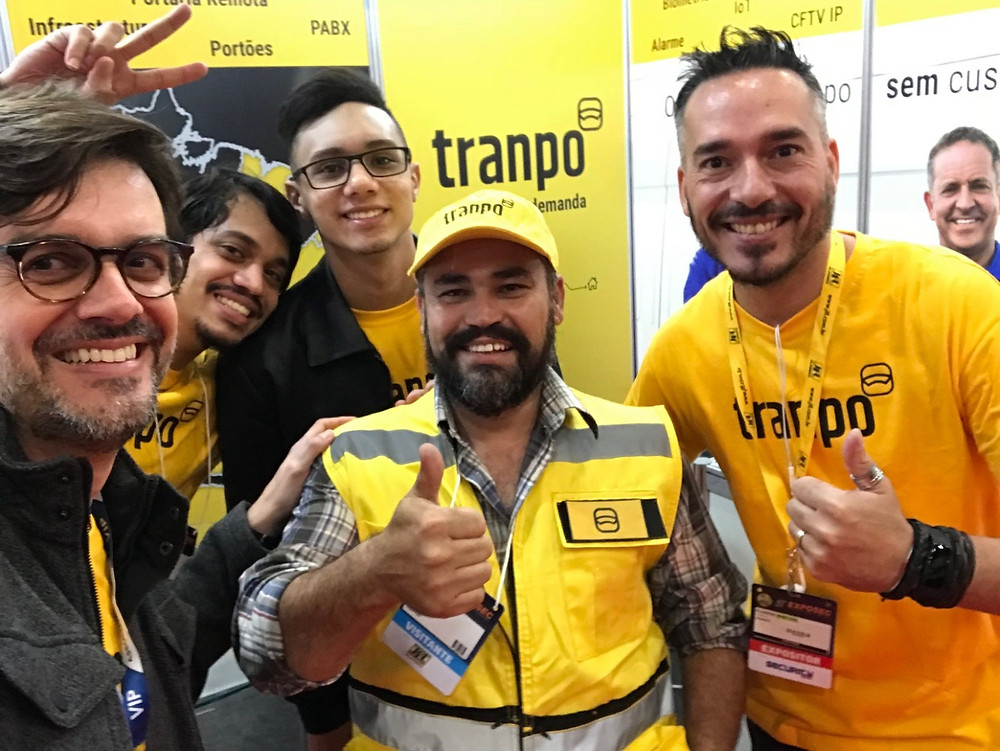 Visita ilustre do nosso parceiro Luiz Bezerra