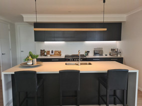 Pendant and LED Strip Installation
