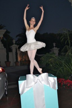Ballet Dancer on Tiffany Box