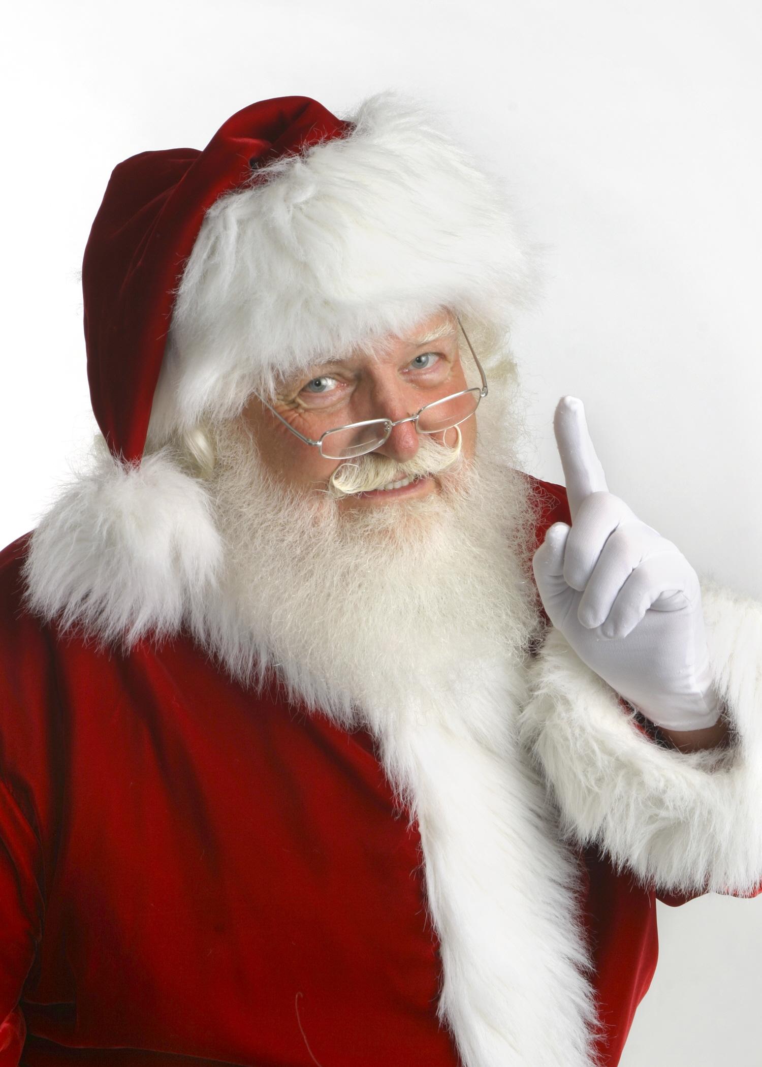 Santa Fred head