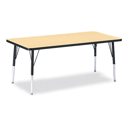 """Table - Adjustable Dimensions: 15-24"""" High x 60"""" Wide x 30"""" Deep"""