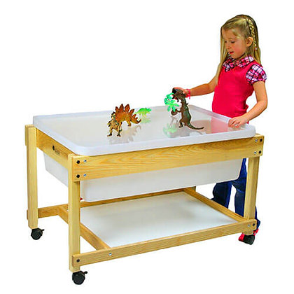 Large Wooden Water Table without lid