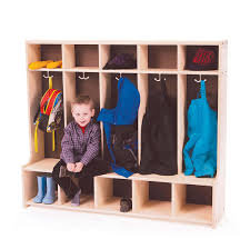 S395: Coat Cubby (5 Section)