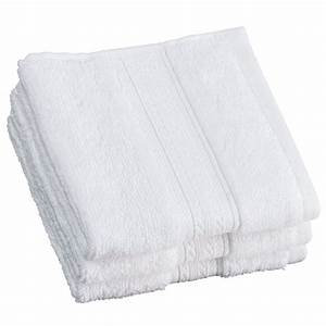FACE CLOTH/ WHITE PER DZ.