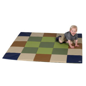 "Play Mat- Earth Tone - Mixed colours 57"" x 57"""