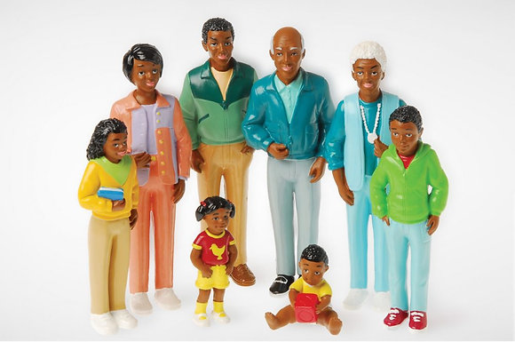 Pretend & Play / African American Family