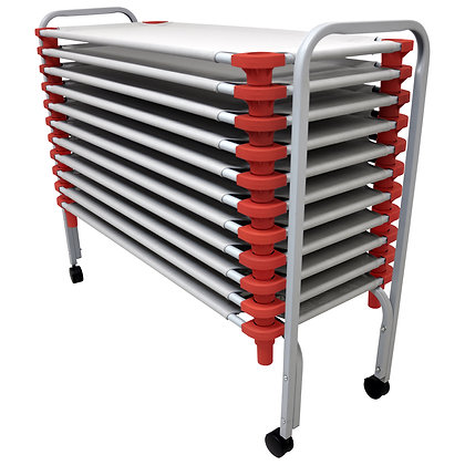 """Rest Cots - 21"""" x 52"""" 6 pk. grey top only"""