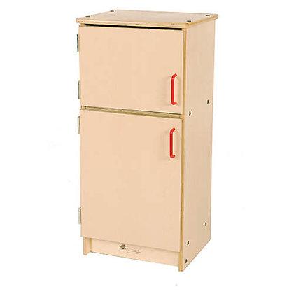 Wooden fridge