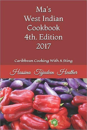 Ma's West Indian Cookbook 4th. Edition