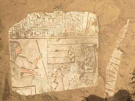 Гробница царского генерала найдена в Саккаре