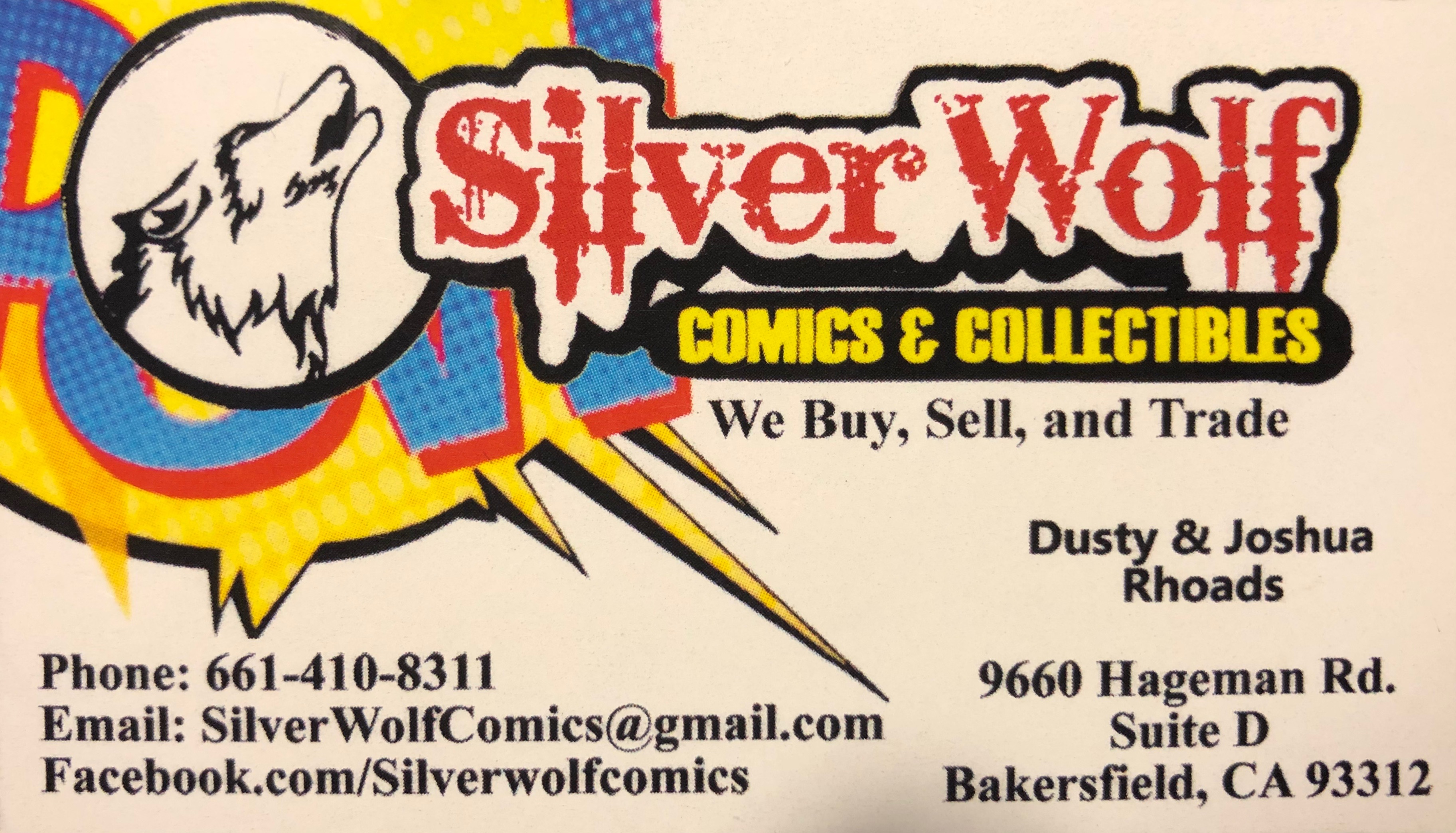 Silver Wolf Comics & Collectibles