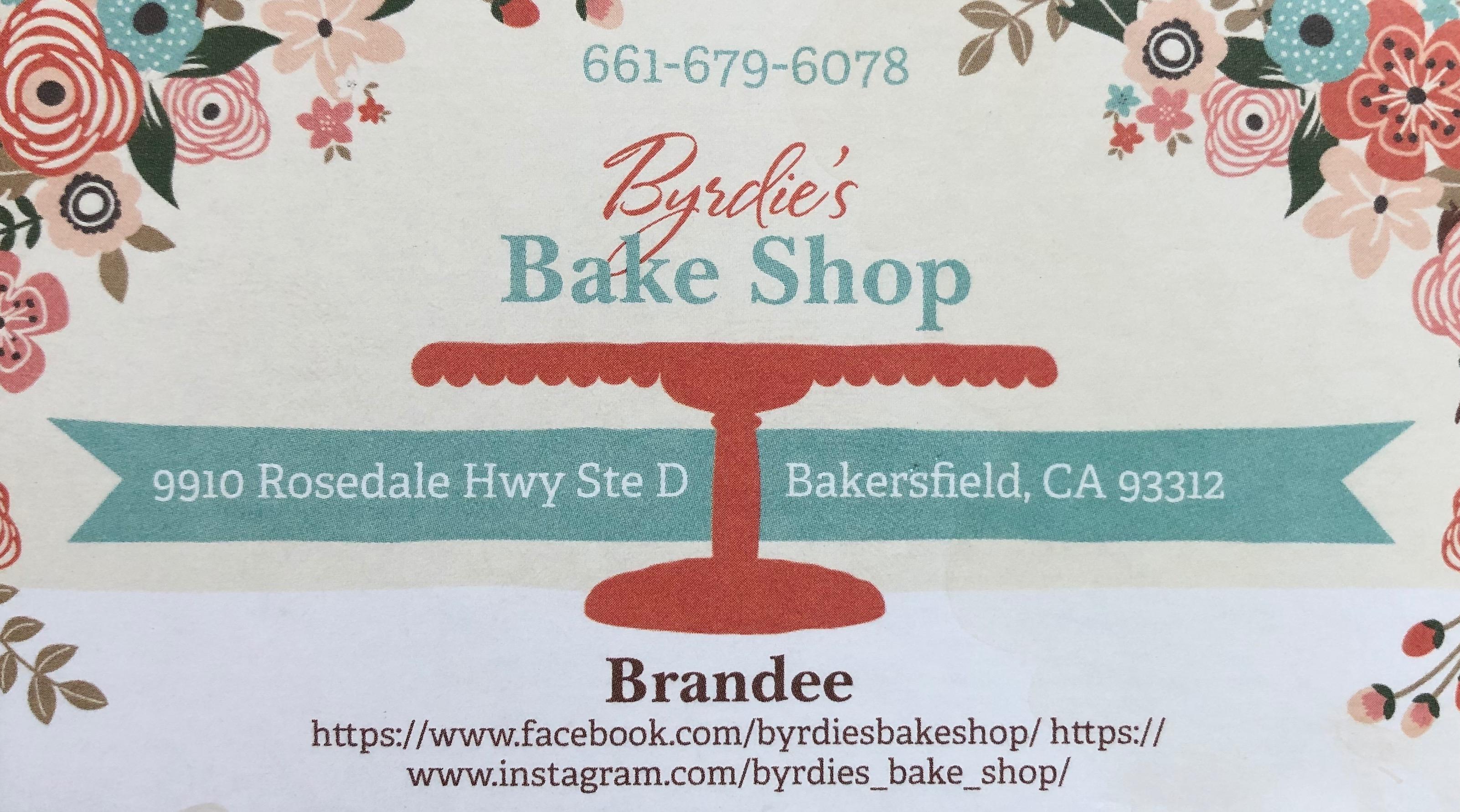 Byrdie's Bake Shop