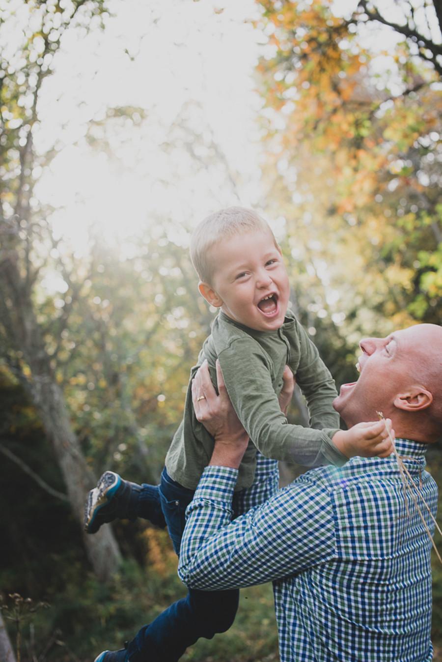 Familjefotografering Frösön