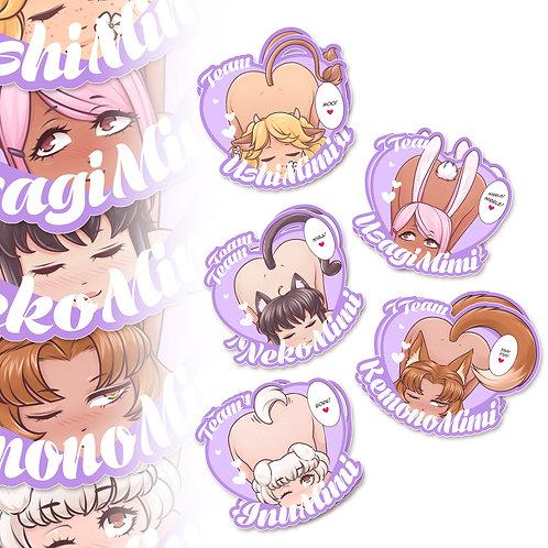 Mimi Team Heart Multipack!
