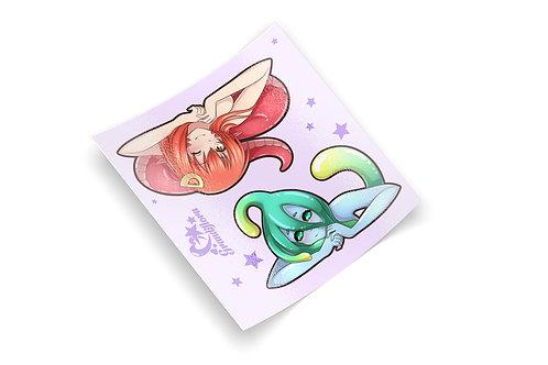 Monster Musume Mini Sheet