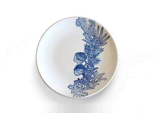Blue & White Plate No1