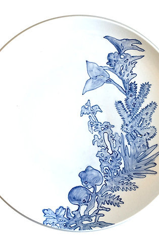 Blue & White Plate No 5