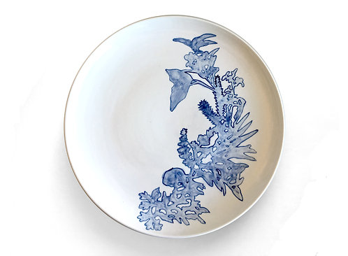 Blue & White Plate No 4