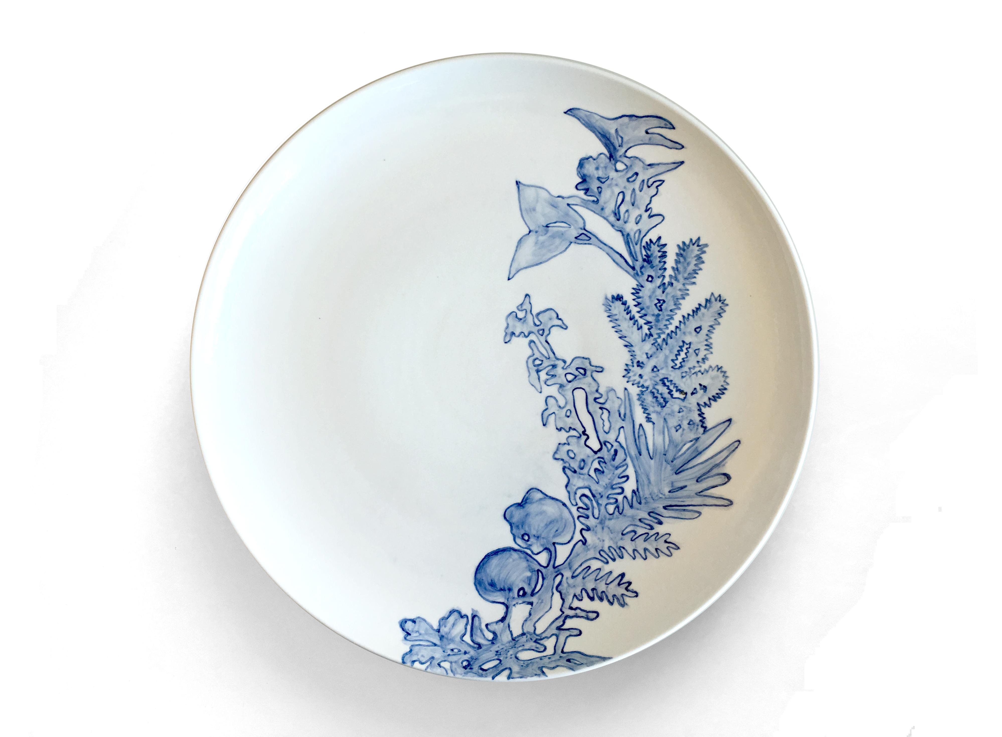 Blue & White No5