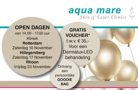 Open Dagen - Aqua Mare bestaat 40 jaar!