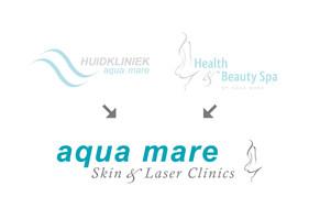 Nieuw Logo voor Huidkliniek Aqua Mare