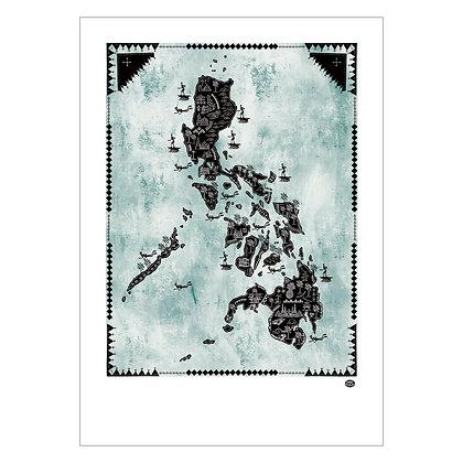Philippine map   Robert Alejandro